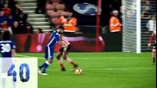 DIEGO COSTA: 40 Premier League goals