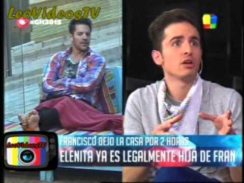 Francisco Volvio a salir de la casa GH 2015 #GH2015 #GranHermano
