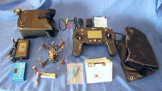 Eachine Novice III Ready to Fly FPV Racer Kit Flight Test Review