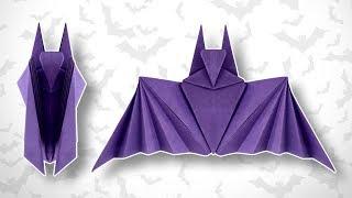 Origami Halloween Bat