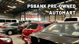 PSBANK REPOSSESSED CARS UPDATE! (SUV, MPV, VAN)