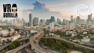 View From Baiyoke Tower, Bangkok (360 VR Video)