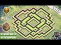 COC Town Hall 8 (TH8) Trophy and Farming Base 2017 with Replay ♦ TH8 Hybrid Base With new update