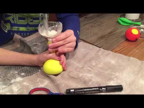 Knautschball, Jonglierball selber machen