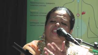 Qawwali Ganj-E-Shakar by Anandita Basu in Moscow 08.06.2015 - Анандита Басу. Каввали Ганж-Е-Шакар