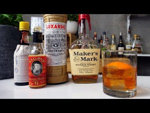Fancy Free aka a Maraschino Old Fashioned Cocktail Recipe
