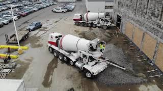 Dura Trench Concrete Pour