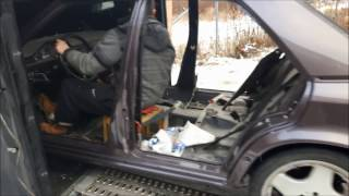 Restoration Mercedes Benz W 124 500E