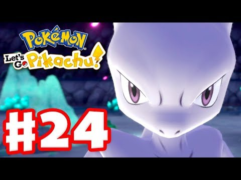 MEWTWO! And Green! – Pokemon Let's Go Pikachu and Eevee – Gameplay Walkthrough Part 24