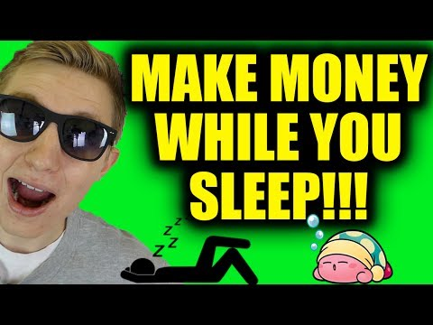 10 Ways To Make Money While You Sleep!!! – Passive income Ideas!!!
