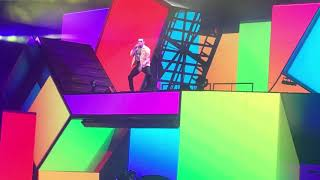 Chris Brown Performing Rock Your Body