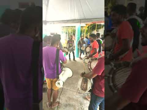 Anne tambi 7 Peru song by Ruthrakali Amman urumi melam at dengkil
