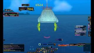 World of Warcraft: Vashj'ir moonkin solo whale shark