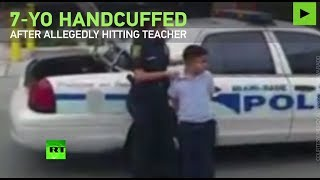 7yo handcuffed after allegedly attacking teacher in Miami
