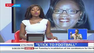 Ida Odinga dismisses Mariga's bid