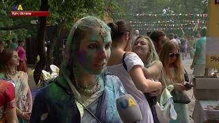 Ukrainians Celebrated Indian Festival of Holi