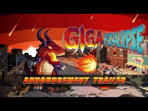 Gigapocalypse - Announcement Trailer de Gigapocalypse