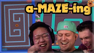 How to Map Maker - CRAZY Mini Game CHEESE MAPS ft. Lex and Kairos 🍊