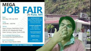 Mech Dose #287 FREE REGISTRATION FOR MEGA JOB FAIR IN JULY 2019 ORGANIZED BY AMP