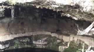 preview picture of video 'Mexico, Valladolid - Cenote Zaci'