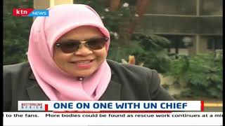 One on One with UN Chief, Maimunah Sharif   Bottomline Africa