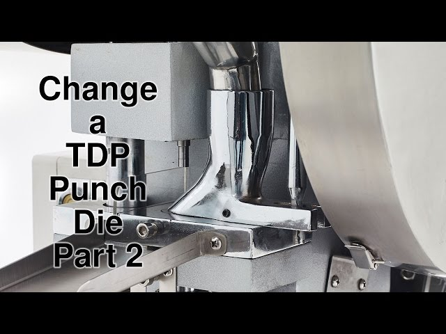 Tablet Pill Press How to change a die part 2