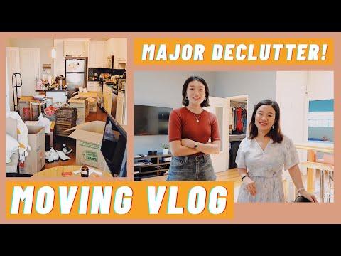 又搬家了,极度舒适的大型斷捨離现场 Declutter with Us - Minimalist Moving Vlog