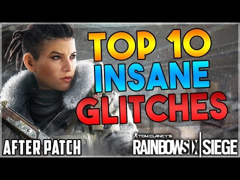 TOP 10 BEST WORKING SOLO GLITCHES AFTER OPERATION GRIM SKY - (Rainbow Six Siege)