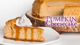 Pumpkin Cheesecake With Cinnamon Whipped Cream