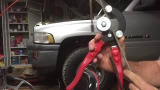 break line repair you need breaks bend them with this tool