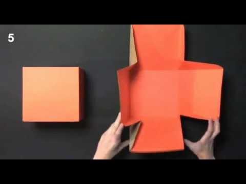 Caja regalo cuadrada - Montaje Pack 2003 SelfPackaging