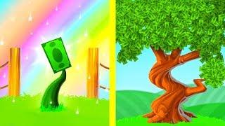Эволюция ОГРОМНОГО ДЕНЕЖНОГО ДЕРЕВА! - Money Tree