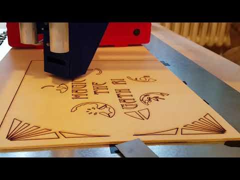 Laser engraving with MPCNC - смотреть онлайн на Hah Life