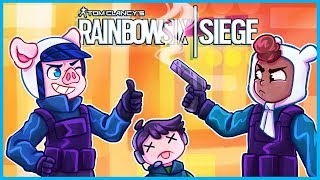 Rainbow Six Siege but we kill our teammates because they're dumb...