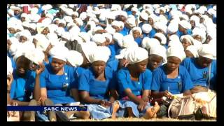 ZCC's Bishop E. Lekganyane urges tolerance to thousands in Moria