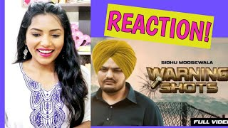 South Indian Reacts To WARNING SHOTS   Sidhu Moose Wala   Latest Punjabi Songs 2019
