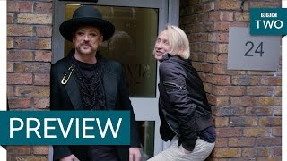 Boy George talks about squatting with Marilyn - Boy George's 1970s: Save Me From Suburbia - BBC Two