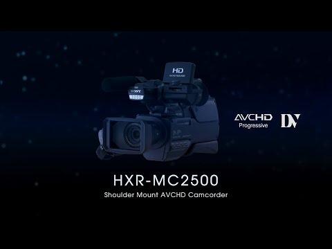 HXR-MC2500 Functional Video
