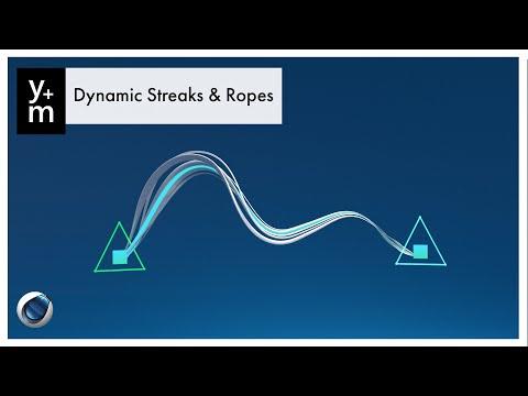 Spline Dynamics for Stroke Animation