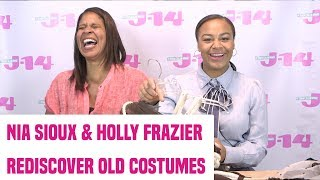 Dance Moms Stars Nia Sioux And Holly Frazier Rediscover Old Costumes