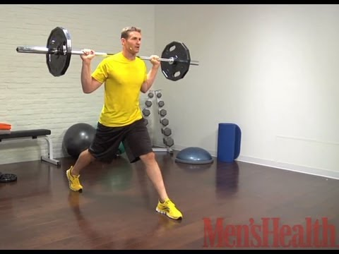 How to Do a Barbell Split Squat - Men's Health