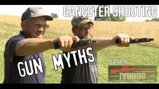 Gangster shooting- Gun Myths with Jerry Miculek & Iraqveteran8888