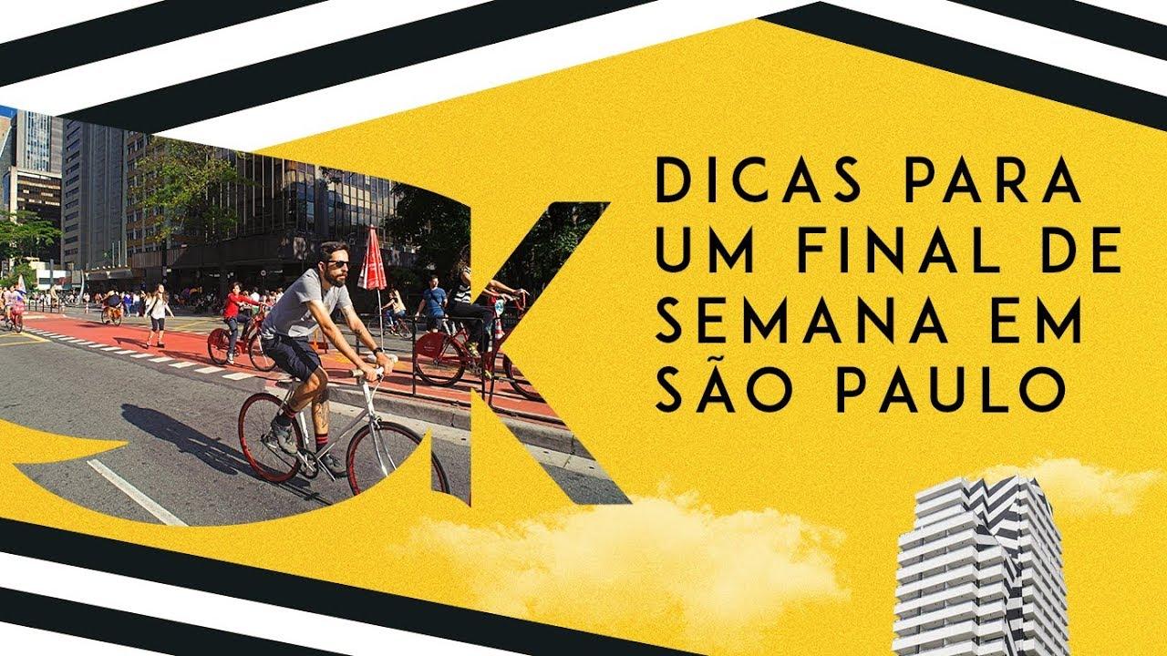 Dicas para um final de semana em São Paulo