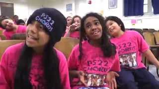 "PS22 Chorus ""PEOPLE LOVING PEOPLE"" Garth Brooks"