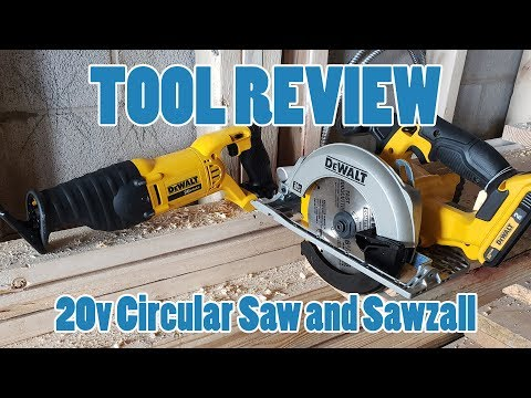 TOOL REVIEW – Dewalt 2-Tool Combo Circular Saw and Reciprocating (SAWZALL) Saw