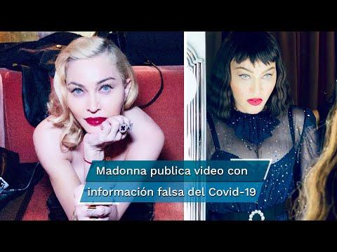 Se lanzan contra Madonna por difundir información falsa sobre el coronavirus