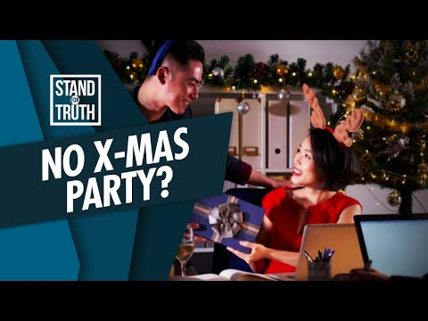 [GMA]  Stand for Truth: Christmas party, bawal muna?