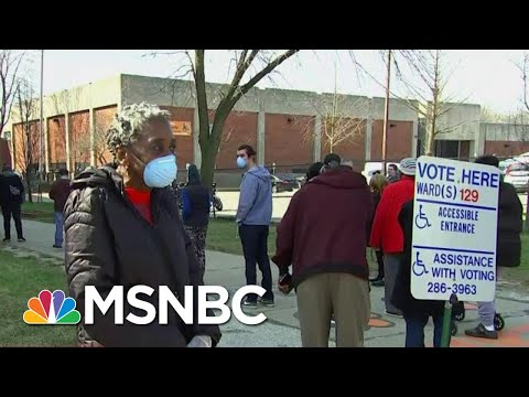 Wisconsin Primary Voter: 'This Election Should Have Been Called Off' | MTP Daily | MSNBC