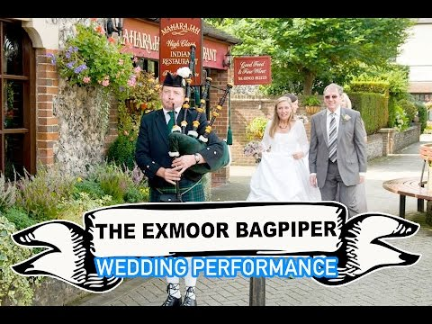 The Exmoor Bagpiper Video