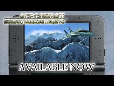 Ace Combat Assault Horizon Legacy Plus - New N3DS - Engage Now (Launch Trailer) thumbnail